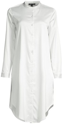 Eileen Fisher Recycled Long Shirt Tunic