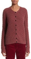 Marc Jacobs Women's Heart Button Cashmere Cardigan