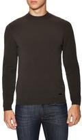 Armani Collezioni Solid Mockneck Sweater