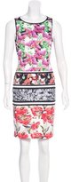 Clover Canyon Sleeveless Floral Print Dress