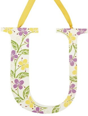 Pottery Barn Kids Printed Letters