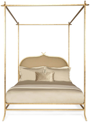 Badgley Mischka Home Casablanca King Poster Bed