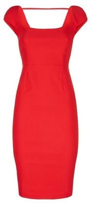 Dorothy Perkins Womens *Vesper Red Pencil Dress, Red