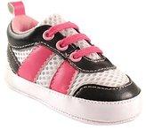 Luvable Friends Girls' Athletic Shoe Sneaker