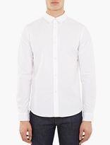 A.p.c. White Cotton Casual Shirt