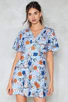Nasty Gal I Want It Petal Floral Dress