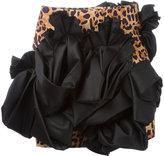 DSQUARED2 leopard print ruffle skirt - women - Polyester/Viscose - 38