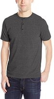Threads 4 Thought Men's Sustainable Baseline Short Sleeve Tri-Blend Eco Henley