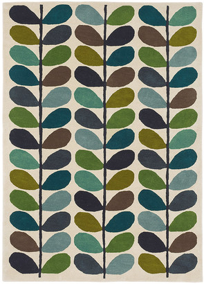 Orla Kiely Multi Stem Rug - Kingfisher - 160x230cm