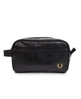 Fred Perry Acc Classic Wash Bag Colour: BLACK, Size: One Size
