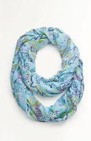 J. Jill Floral & Paisley Infinity Scarf