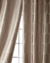Creative Threads Cylinder Taffeta Curtain, 108""