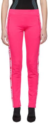 Versus Pink Logo Lounge Pants