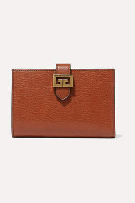 Givenchy Gv3 Textured-leather Wallet - Tan