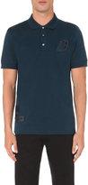 Brioni Logo-detail Cotton-jersey Polo Shirt