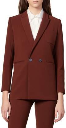 Sandro Blooe Straight-Fit Suit Jacket