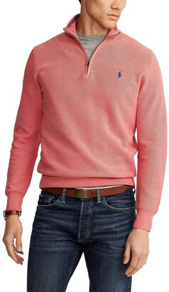 Polo Ralph Lauren Zip-Up Cotton Jumper