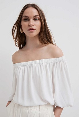 Witchery Off Shoulder Blouse