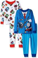 Thomas & Friends Thomas the Train & Friends Boys 4 piece Pajamas Set