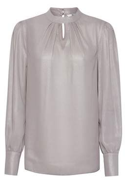 Dorothy Perkins Womens **Tall Silver Foil Honey Top, Silver