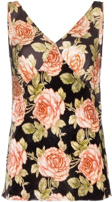 Paco Rabanne Floral Print Blouse