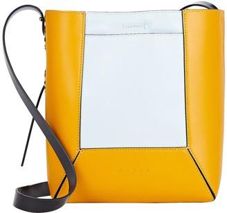 Marni Nemo Small Colorblock Leather Bag