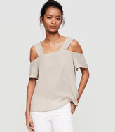 Lou & Grey Striped Off-The-Shoulder Tank