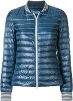 Herno Biker-style bomber jacket
