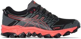 Asics black FujiTrabuco sneakers