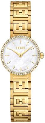 Fendi Forever Diamond Bracelet Watch, 19mm
