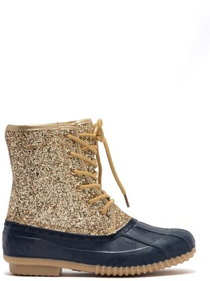 Sugar Glitter Duck Boot