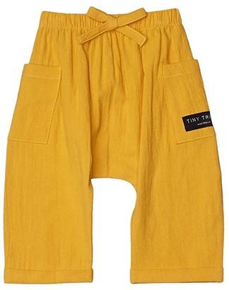 TINY TRIBE Mustard Pants w/ Pockets (Infant) (Yellow) Boy's Casual Pants