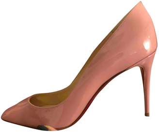 Christian Louboutin Pigalle Pink Patent leather Heels