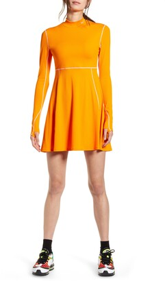 Nike x Olivia Kim NRG Long Sleeve Performance Tennis Dress