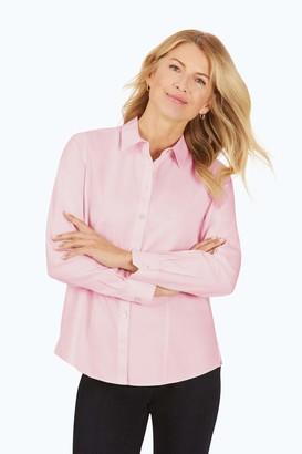 Foxcroft Women's Dianna Non-Iron Pinpoint Shirt