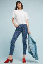 Pilcro and the Letterpress Pilcro Leopard Mid-Rise Skinny Jeans