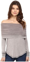 Free People Cosmo Cowl Long Sleeve Top