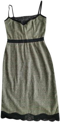Dolce & Gabbana Green Wool Dresses