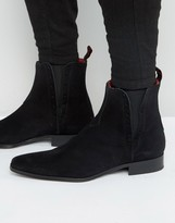 Jeffery West Yardbird Suede Chelsea Boots