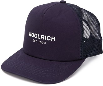 Woolrich Logo-Print Baseball Cap
