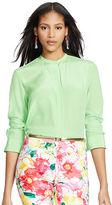 Polo Ralph Lauren Silk Long-Sleeve Shirt