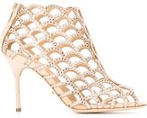 Sergio Rossi 'Mermaid' sandals - women - Leather/glass - 36