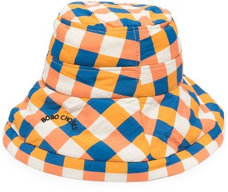 Bobo Choses Check Bucket Hat