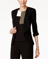 Nine West Tab-Sleeve Blazer