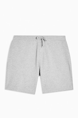 Topman Womens Grey Jersey Shorts - Grey