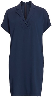 Escada Dixanulani Dolman Sleeves Shift Dress