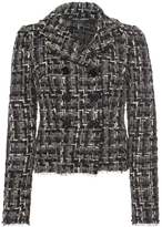Dolce & Gabbana Double Breasted Tweed Jacket