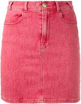 Frame retro denim skirt - women - Cotton/Polyester/Spandex/Elastane - 26