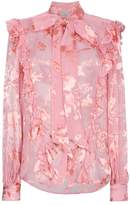 Preen by Thornton Bregazzi Floral pussy bow blouse