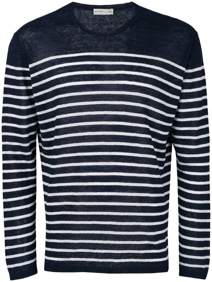 Etro Breton stripe T-shirt